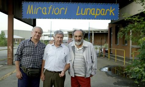 Primi ciak a Mirafiori lunapark