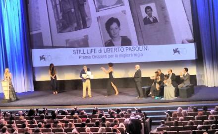Premio Orizzonti per Still life